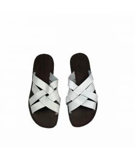 White Chidro Slide Sandals CA_SND-CHIDRO-BIANCO